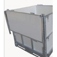China Foldable IBC 1000 Liter Container / Ibc Water Container 1.0mm White Coated Steel Panel on sale