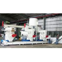China Russia Wood Pellet Production Line Complete 3-4t/h Biomass Fuel Wood Shaving Sawust on sale
