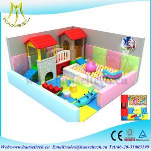 Hansel indoor game equipment soft playground or outdoor amusement Manufactures