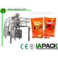 Peanuts Snacks Packaging Machine / Poly Packaging Machine 50Hz - 60Hz Manufactures