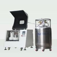 Cryogenic Pulverizer Planetary Ball Mill With Liquid Nitrogen Laboratory Type Manufactures