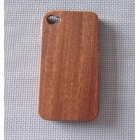 Brown Sapelli Iphone 4 Wooden Cases,Mobile Phone Cover Manufactures