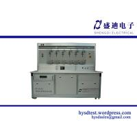 HS-6103F 6 Seats Single Phase Energy meter test equipment(Pulse Acqusition) Manufactures
