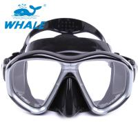 Tempered Glass Diving Mask with Silicon Mouth Piece , Crystal Clear View Manufactures