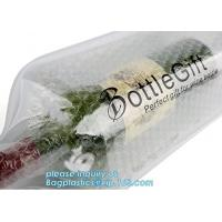 Eco friendly wine bag,wine bottle protector,Bubble Bags Wrap Packaging Fragile Items Inflatable Wine Bottle Air Pouch Ba Manufactures