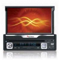 China 1 DIN 7 inch flip up panel Car DVD player with touch screen on sale