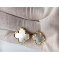 Magic Alhambra Between the Finger ring 18K Yellow gold Mother of pearl world wide free shipping Manufactures