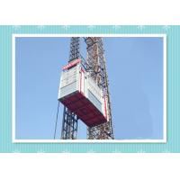 Personnel And Material Construction Elevator Hoist In Single And Twin Cage Manufactures