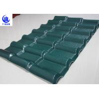 Stable Fire Froof Synthetic Resin Roof Tile For Villa , Residential  2.3mm Thickness Manufactures