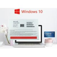 China Windows Pro Sticker / Windows 10 Pro OEM Sticker No Language Limitation on sale