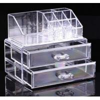 Clear Cosmetic Jewellery Display Makeup Rack Organiser Box Case 2 Storage Drawer Manufactures