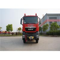 Road - Rail Convertible Fire Fighting Truck 2 Seats Elkhart Monitor Max Speed 90KM/H Manufactures