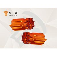 Alloy Steel Water Well Drilling Tools , Fast Speed Thread Button Bit Manufactures
