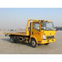 Yellow Color Wrecker Tow Truck Wheelbase 3800 Mm 5085kg Curb Weight Manufactures