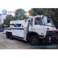 China Power Dongfeng Independent 6X4 Road Wrecker Tow Truck Cummins 260 Hp Engine on sale