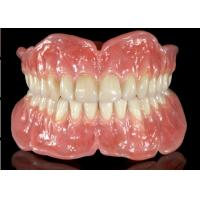 Flexible Removable Dental Bridge Rubber Teeth Set Up Easy Maintain Manufactures