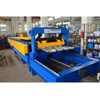 China Color Coated Colis Roof Panel Roll Forming Machine , IBR Sheet Roll Forming Machine on sale