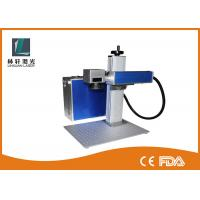 Bird Rings Metal Laser Marker , Color Floor Type Portable Laser Marking Machine Manufactures