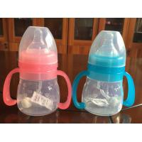 China Durable Unbreakable Baby Silicone Bottles for sale