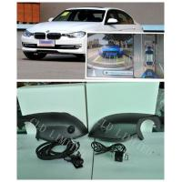 Buy cheap 360 Degree AVM Parking System, Car Backup Camera Systems With Cyclic Video Recording For BMW X3 from wholesalers