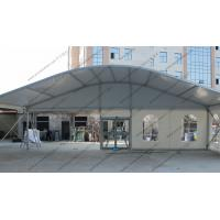 Durable Glass Window Hexagon Dome Tent Convenient White Alumimun Frame Manufactures