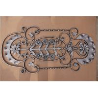 Quality Metal Steel  H1000*W480 MM Wrought Iron Balustrades, Steel Railings Balusters for sale