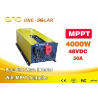 One 48v Dc To 110v Ac 4000w Pure Sine Wave Inverter For MPPT Solar Inverter Manufactures
