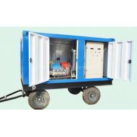 China Water Blasting Machine High Pressure Cleaner Water Jetting Washing Machine on sale