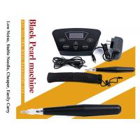 Popular Black Pearl Permanent Makeup Machine Low Noise Fast Speed Stable Needle Manufactures