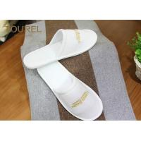 China Closed Toe Terry Cloth Slipper Disposable Hotel Slippers Comfortable and Durable on sale
