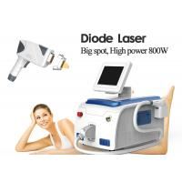 Salon Equipment Medical Laser Hair Removal Machines Big Spot Size 800W 36kgs Gross Weight Manufactures
