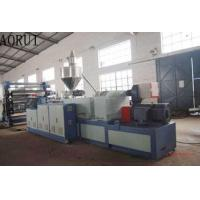 PVC Sheet Coperion Conical Twin Screw Extruders Co Rotating For Imitation Jade PVC Manufactures
