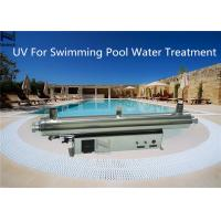 Water Treatment Swimming Pool Ozone Generator UV cleanr 3 - 30 Ton / H Water flow rate Manufactures