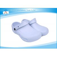 White Rubber Nursing Laboratory Operating Room Footwear Shoes With Strap Manufactures
