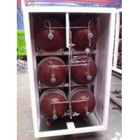 50L - 200L Type 2 Glass Fiber CNG Storage Tanks For Compressed Natural Gas Stations Manufactures