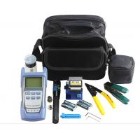 FTTH Fiber Optic Tool Kit , Fiber Testing Tools With OPM VFL And Fiber Cleaver Manufactures
