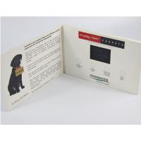 Quality Electronic Gifts LCD Gift Card With 10.1 Inch Screen / Lcd Video Booklet for sale