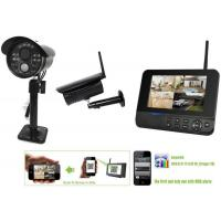 IP66 Digital Wireless Video Surveillance Camera Systems For Home Remote