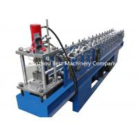 Drywall Partition C U Profile Metal Stud And Track Roll Forming Machine PLC Control Manufactures