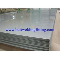 Hot Rolled And Cold Rolled Custom Stainless Steel Sheet ASTM A240 UNS S 31254 Manufactures