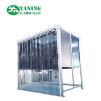 PMMA Hardwall Pharmaceutical Weighing Booth With Anti - Static Curtain Door Manufactures