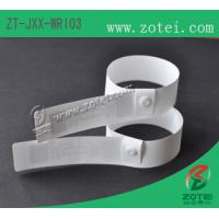 RFID one-time PP paper wristband tag (HF/UHF, Product Type:ZT-JXX-WRI03) Manufactures