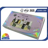 Custom Made Perfume Rigid Packaging Box With Plastic Blister Tray Inserts Manufactures