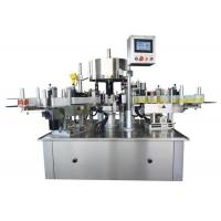 5000BPH Automatic Labeling Applicator Machine , Self Adhesive Sticker Labeling Machine Manufactures