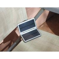 Solar Powered USB Mobile Phone Charger with 4 LED Lamps Manufactures
