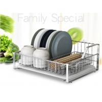 China Tableware Ss Kitchen Rack , High Performance Solid Stainless Steel Racks For Storage on sale