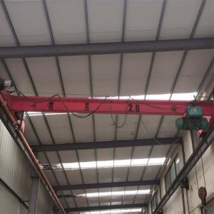 Electric Hoist Single Girder Overhead Crane Travelling Beam Bridge Crane 5 Ton 10 Ton Manufactures