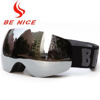 Double Lens Boys Snowboard Goggles Manufactures