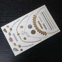 Inspired Jewelry Metallic Temporary Tattoos Manufactures