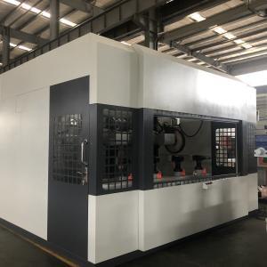 China Zinc Alloy Brass Automated Industrial Machinery , Locks Knobs Metal Polishing Machine on sale